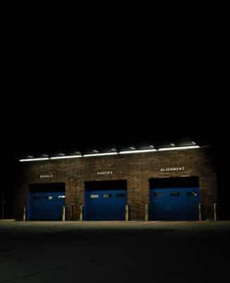commercial garage door in Auburn